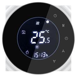 Inteligentny termostat zwierny TUYA Czarny TM006C